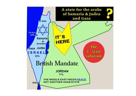 Israel 2 staatenlösung